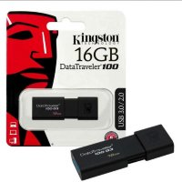 16 Gb Kingston Data Traveler 100G3 USB 3.1/3.0/2.0